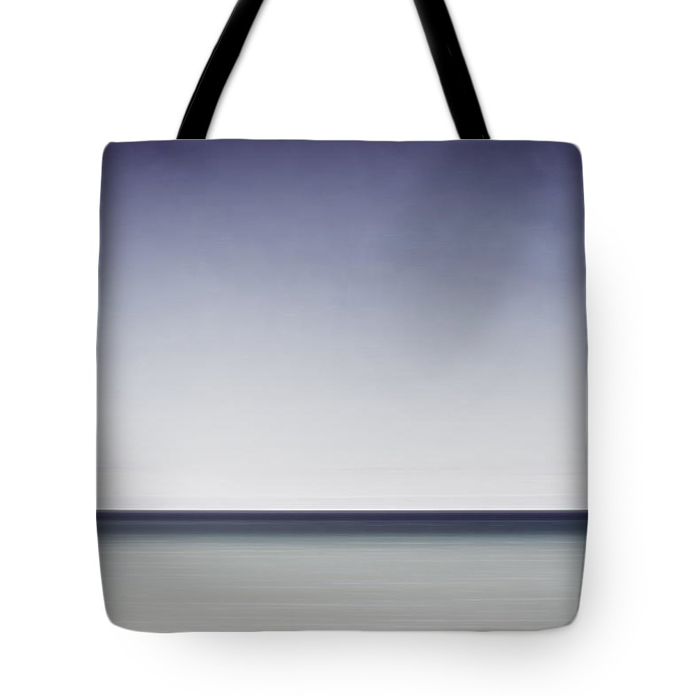 Horizon Tote Bag featuring the photograph Blue Horizon by Scott Norris