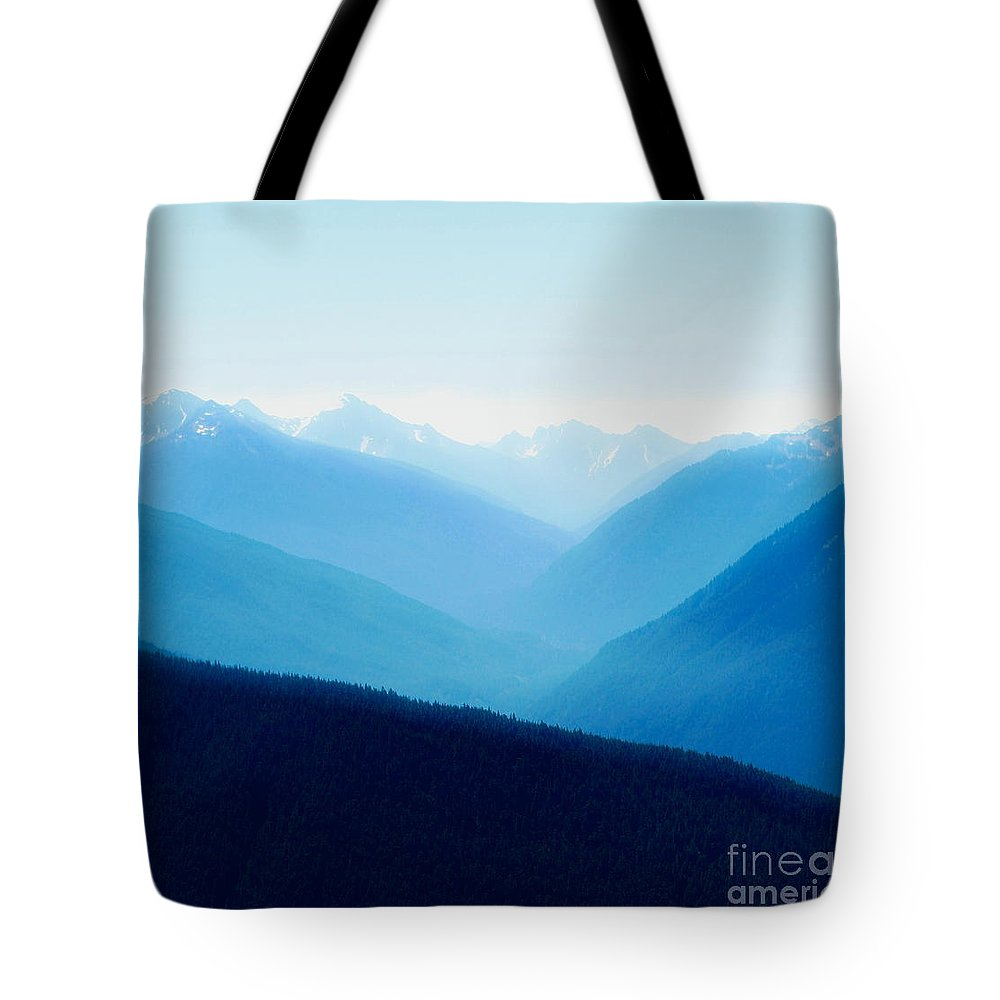 Infinity Tote Bag featuring the photograph Blue Infinity by Idaho Scenic Images Linda Lantzy