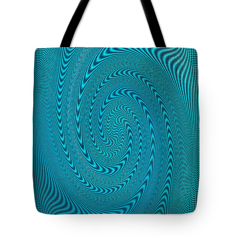 Blue Metal Tote Bag featuring the photograph Blue Metal Spca by David Lee Thompson