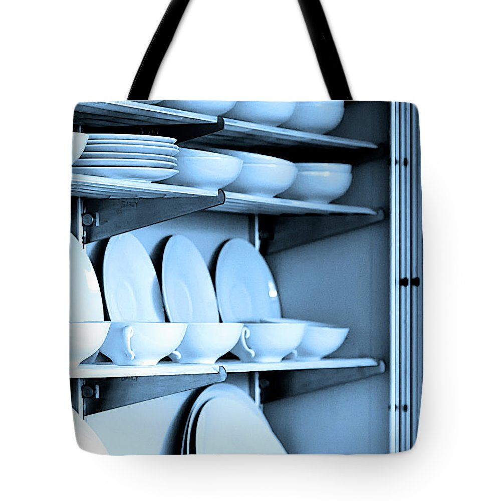 Frey House Tote Bag featuring the photograph Blue Monday by William Dey