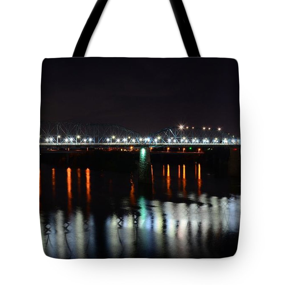 Tote Bag featuring the photograph Blue Moon by Roland Millsaps