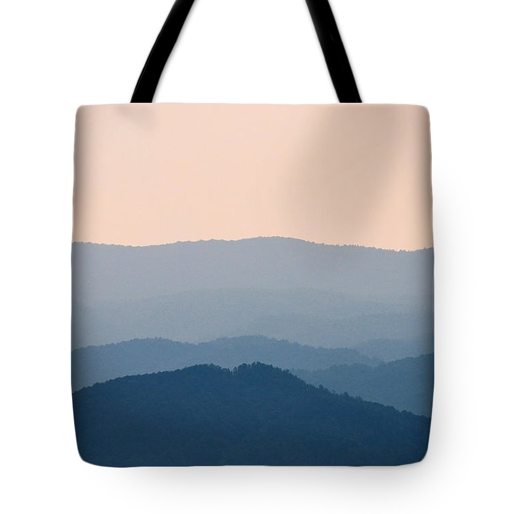 South Carolina Tote Bag featuring the photograph Blue Ridge Mountains by Rich Bodane