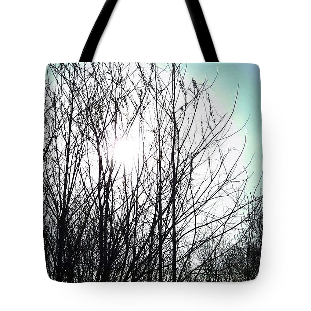 Tote Bag featuring the photograph Blue Sky by Brandi Nierman