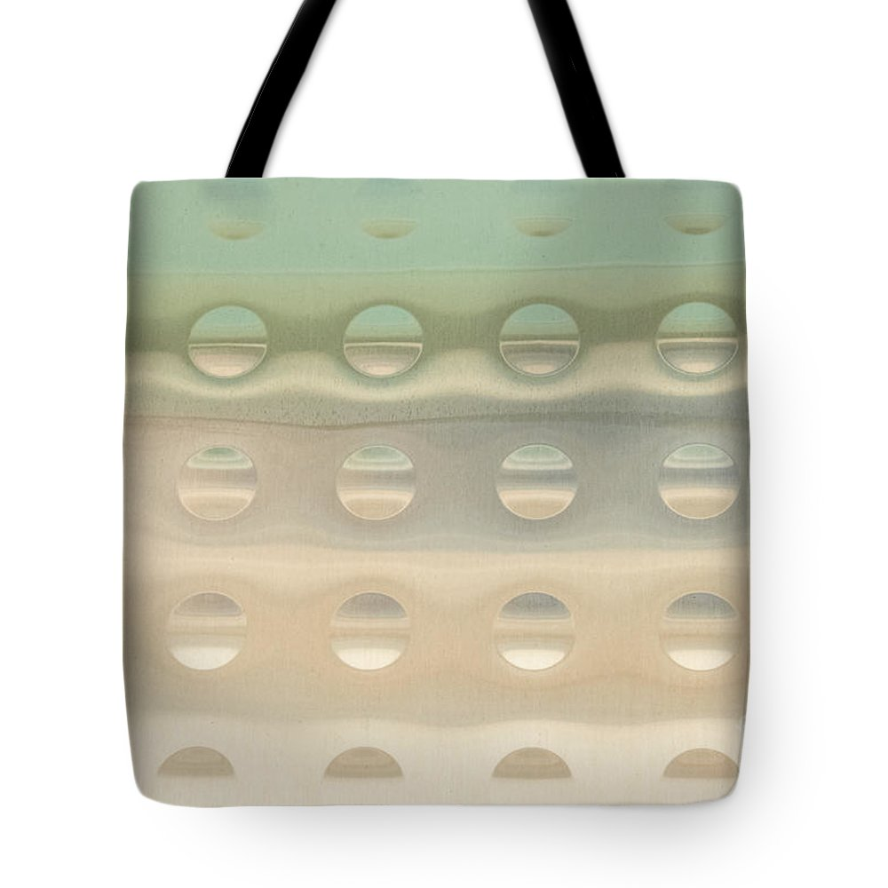 Abstracts Tote Bag featuring the photograph Blue Sky Thinking by Marilyn Cornwell