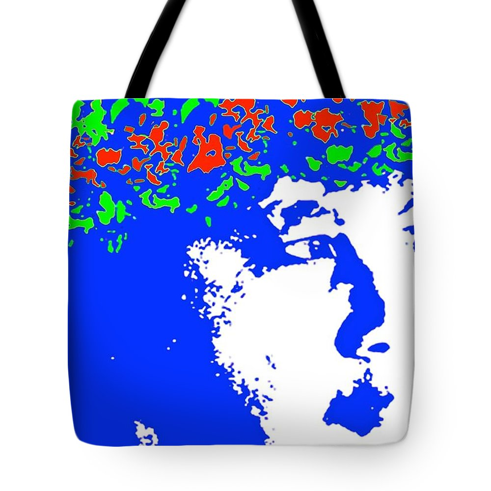 Tote Bag featuring the photograph Blue Wahine by Lehua Pekelo-Stearns