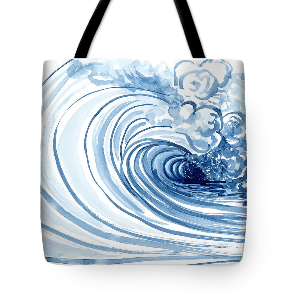 Perfect Storm Paintings Tote Bags
