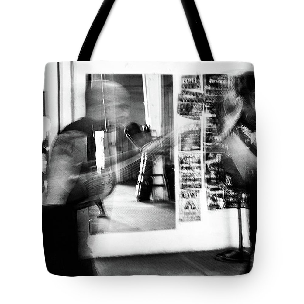 Training Tote Bag featuring the photograph Blurred Training by Elena Rojas Garcia