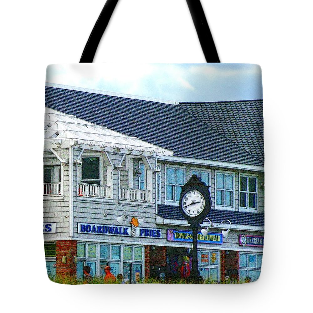 Bethany Beach Tote Bag featuring the photograph Boardwalk Fries 2 by Jeffrey Todd Moore