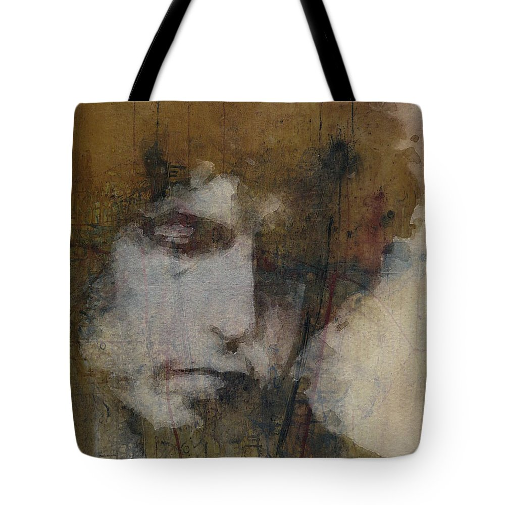 Celebrity Mixed Media Tote Bags