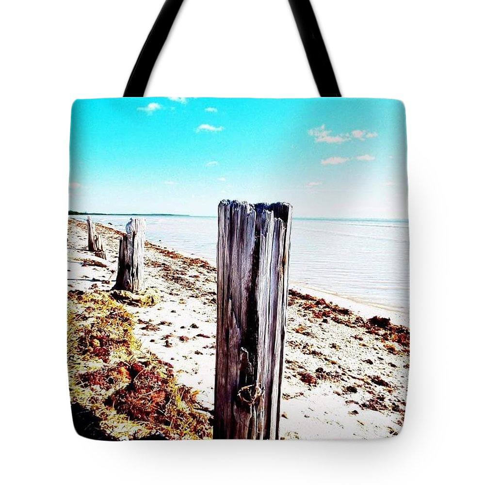 Posts Tote Bag featuring the photograph Boca by Jeffrey Hite
