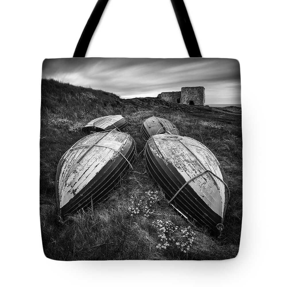 Boddin Point Tote Bag featuring the photograph Boddin Point by Dave Bowman