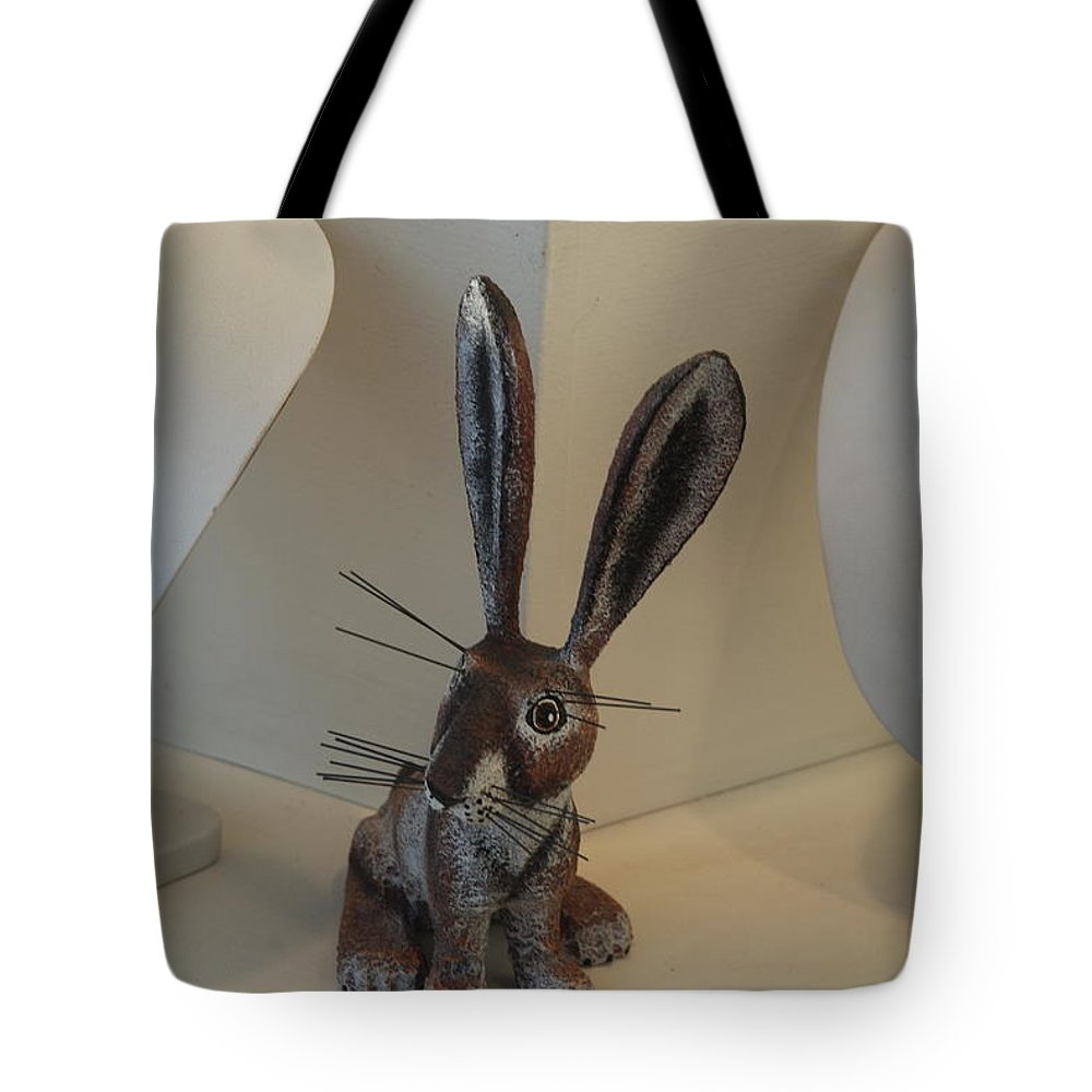Rabbit Tote Bag featuring the photograph Boink Rabbit by Rob Hans