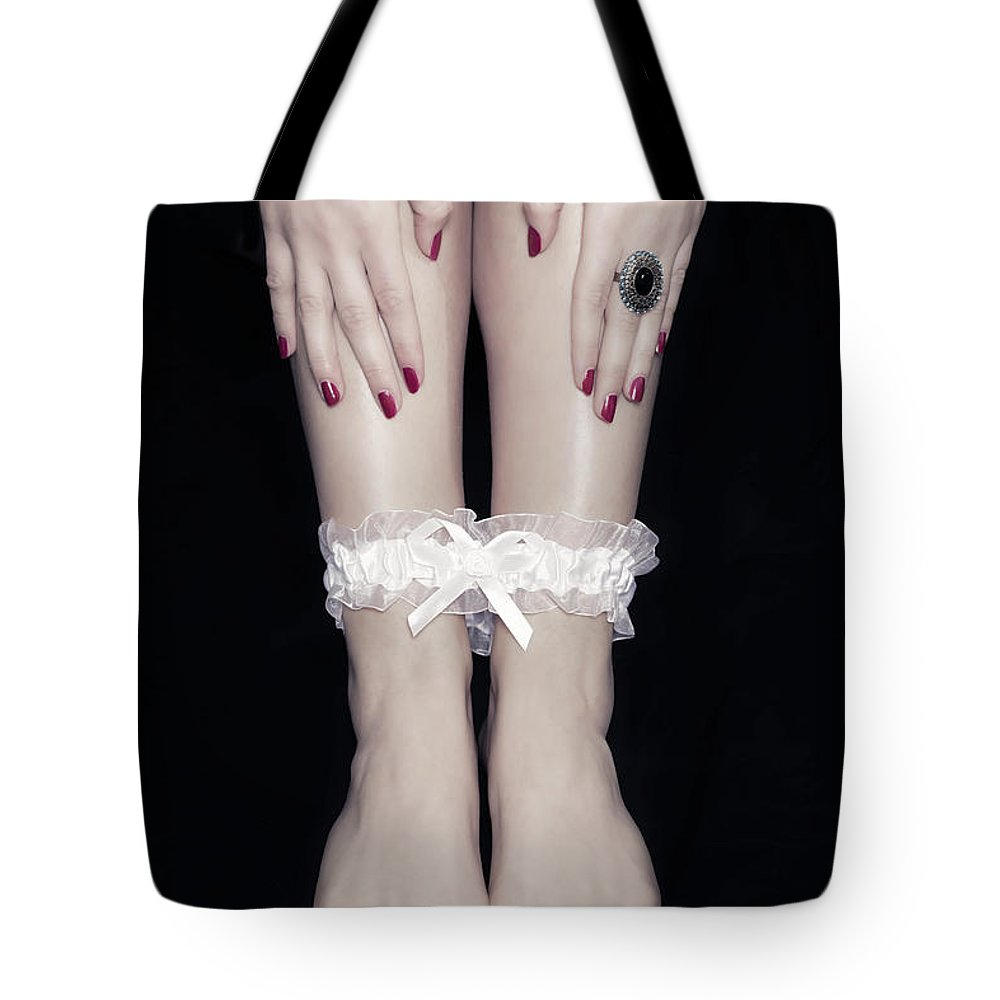 Female Tote Bag featuring the photograph Bonded Legs by Joana Kruse