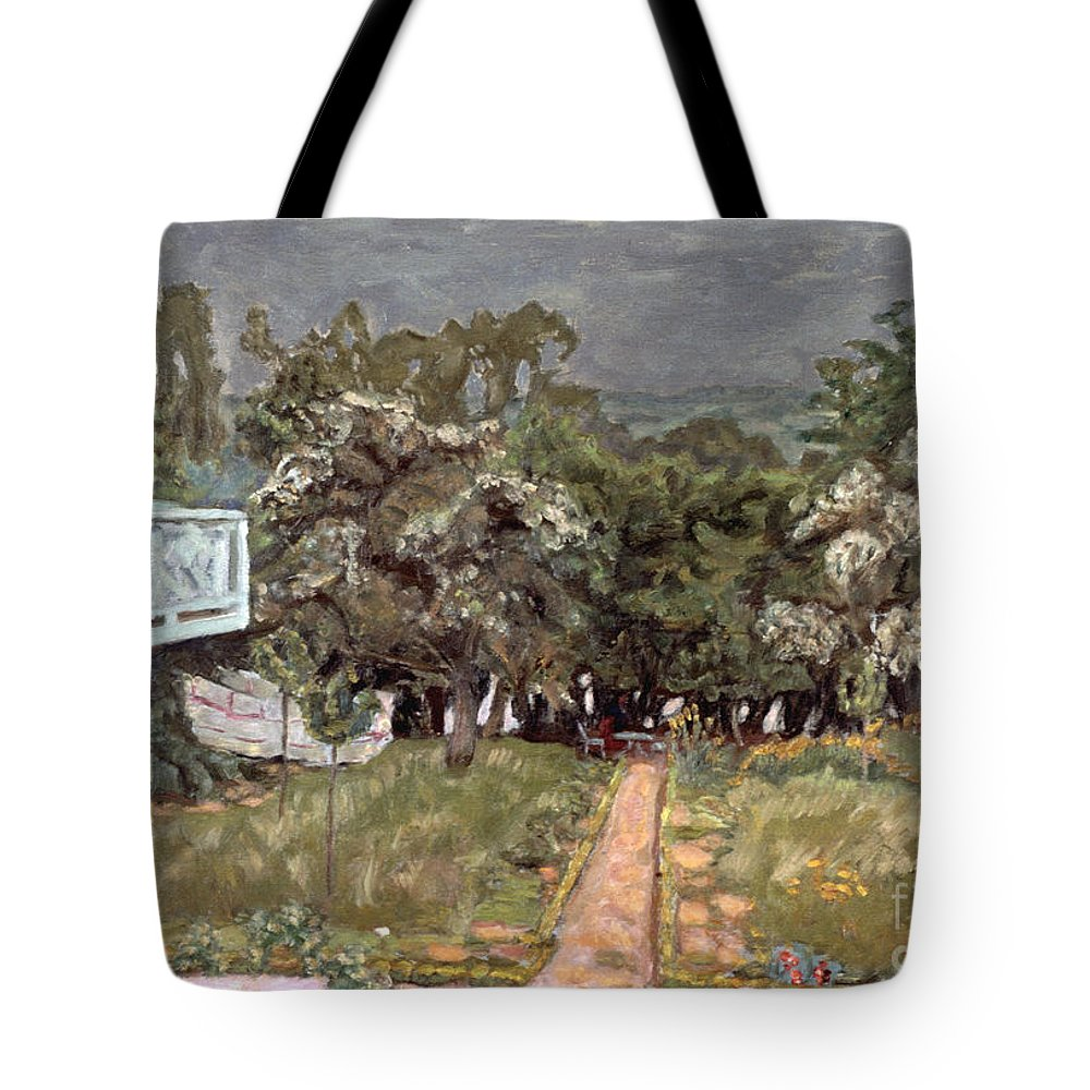 1910 Tote Bag featuring the photograph Bonnard: Balcony, 1909-10 by Granger