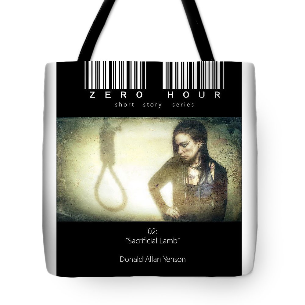 Horror Tote Bag featuring the photograph Book Cover V by Donald Yenson
