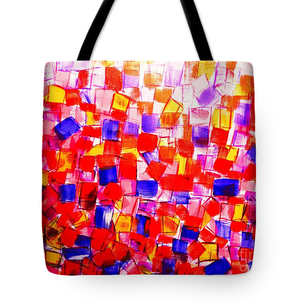 Books Tote Bag featuring the painting Books by Dirk Weed