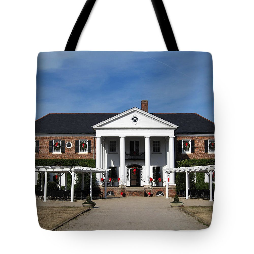 Photography Tote Bag featuring the photograph Boone Hall Plantation Charleston Sc by Susanne Van Hulst
