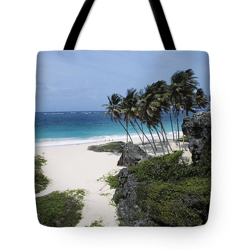 Barbados Tote Bag featuring the photograph Bottom Bay by Bill Bachmann - Printscapes