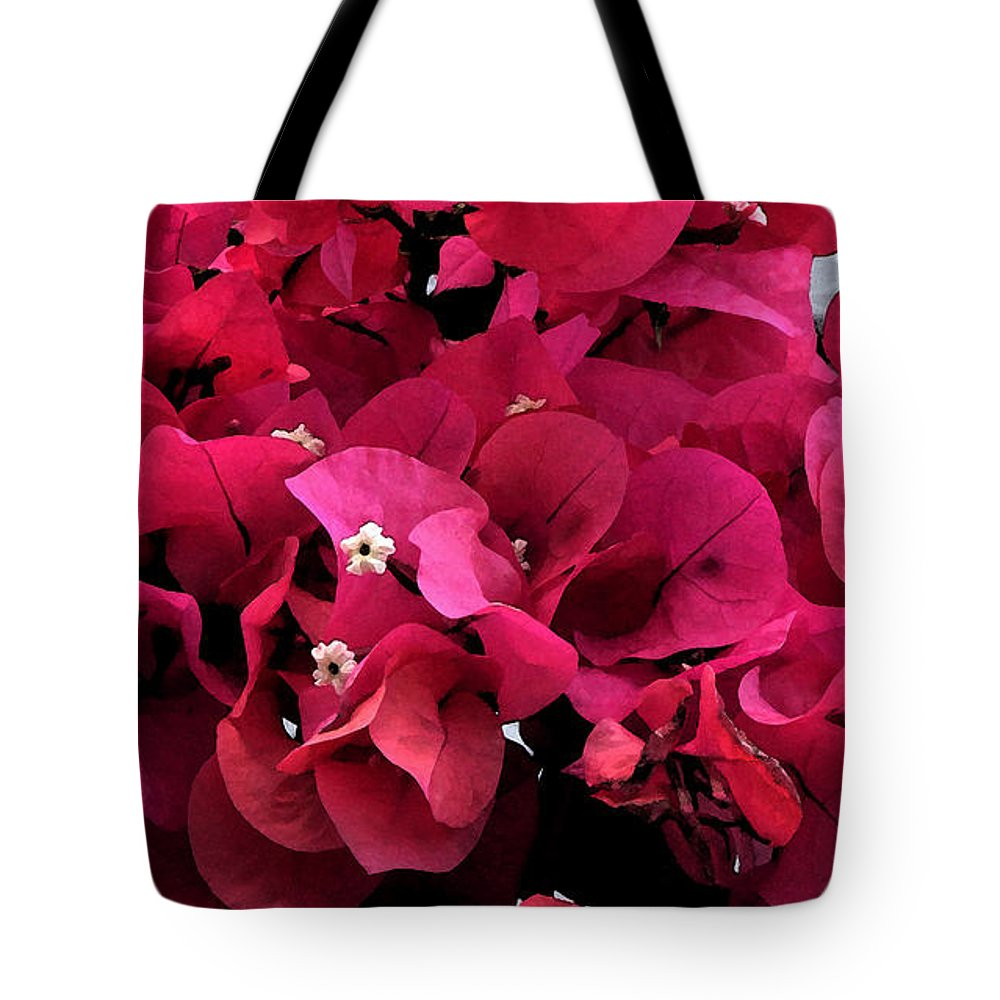 Flower Tote Bag featuring the photograph Bougainvillia by Ian MacDonald