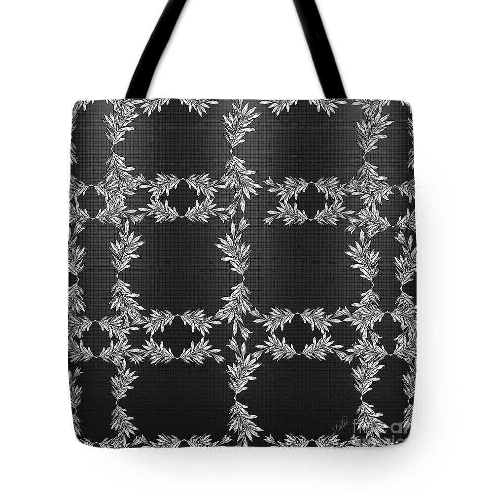 Leaves Tote Bag featuring the photograph Bough Grid by Sharon Johnston