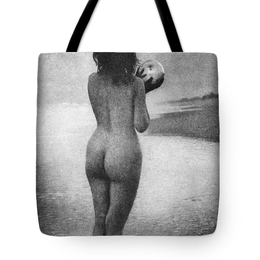 1909 Tote Bag featuring the photograph Boughton: Dawn, 1909 by Granger