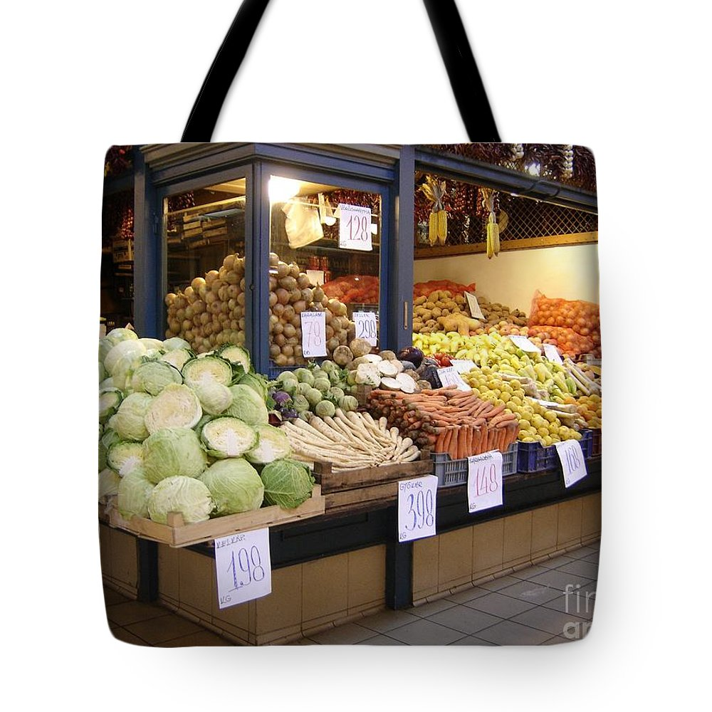 Food Tote Bag featuring the photograph Bountiful by Mary Rogers