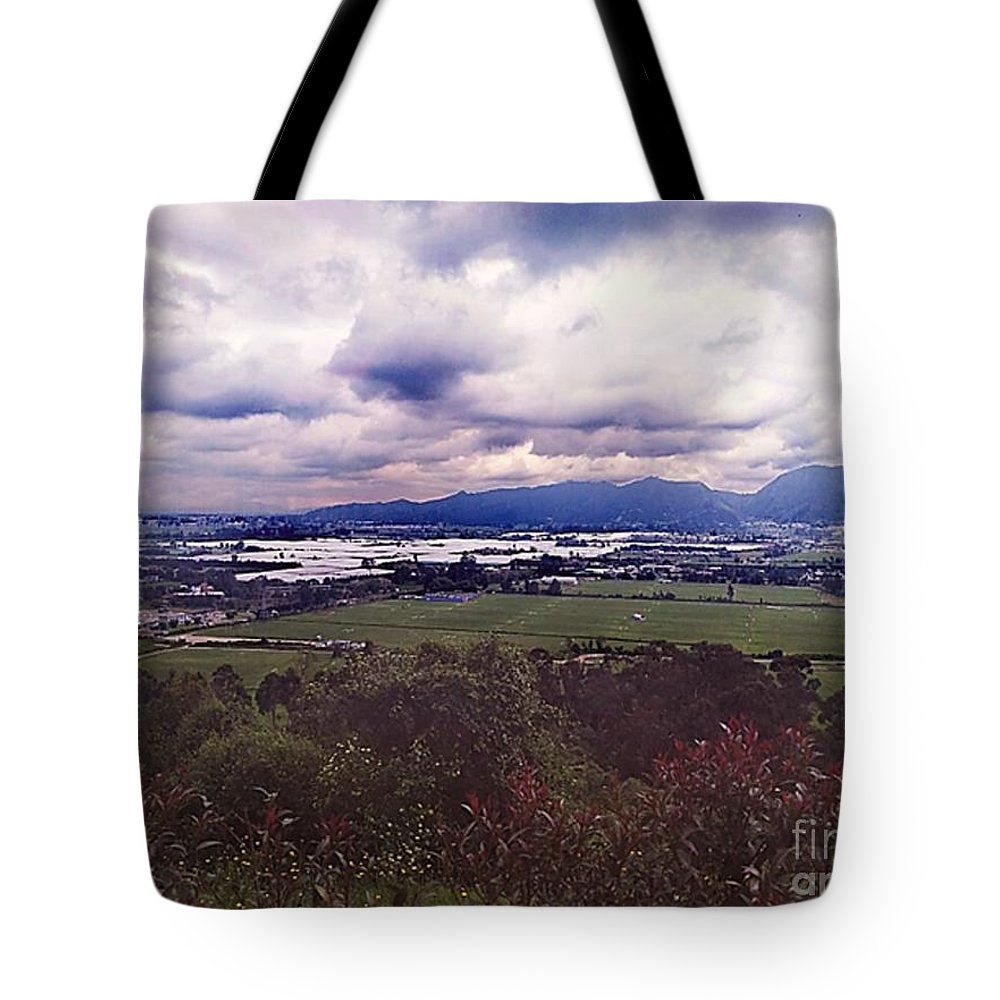 Tote Bag featuring the photograph Boyaca by Pahola Baro Sfer