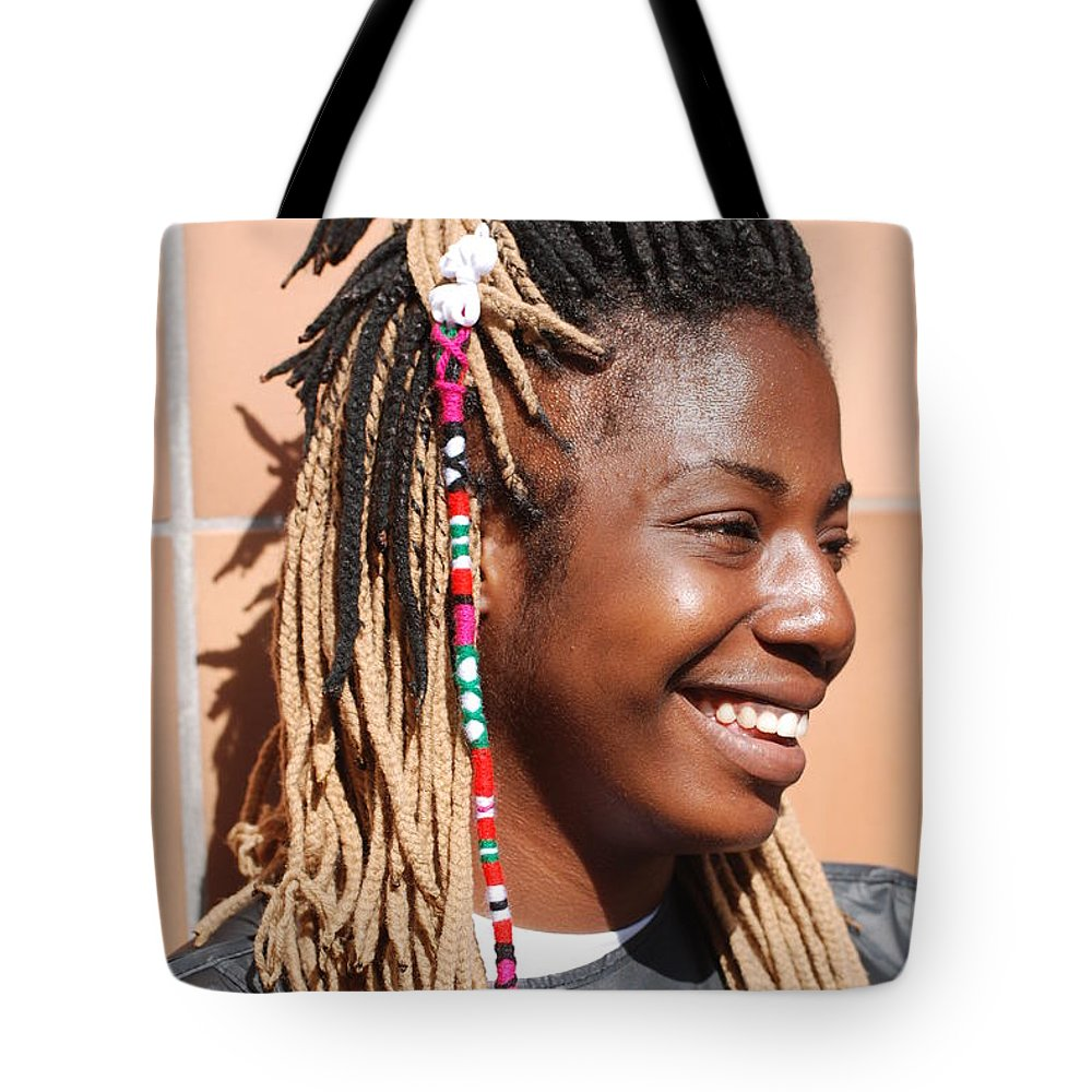 People Tote Bag featuring the photograph Braided Lady by Rob Hans