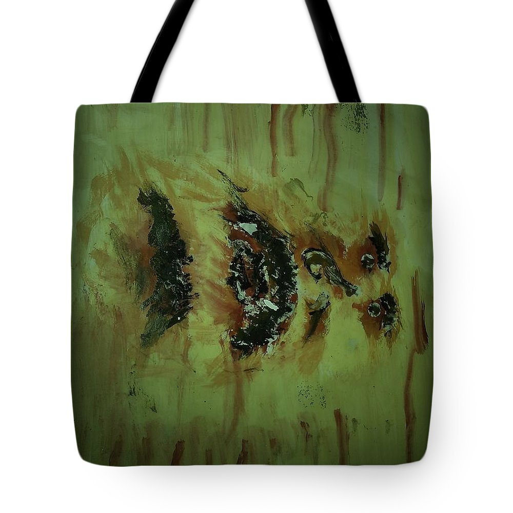 Water Colours Tote Bag featuring the painting Brain Wash by Alfred Kelwins