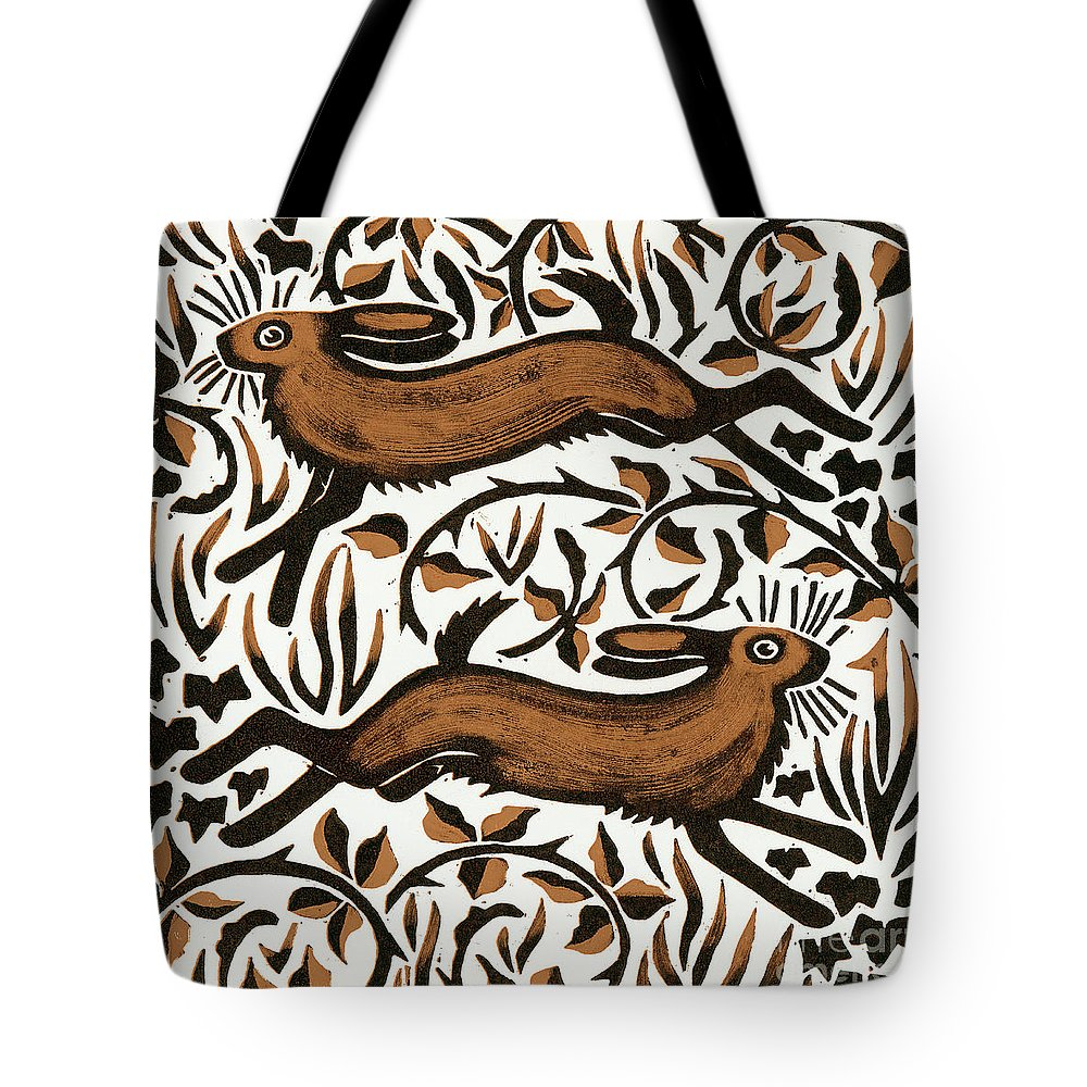 Woodland Animals Tote Bags