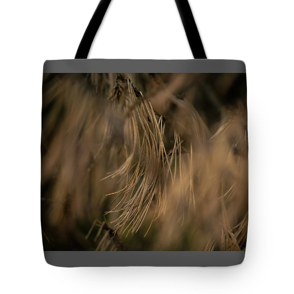Abstract Tote Bag featuring the digital art Branches 3407 by Daniel DeLucia