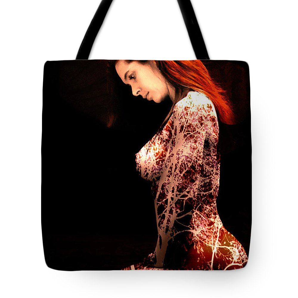 Clay Tote Bag featuring the photograph Branching Out by Clayton Bruster