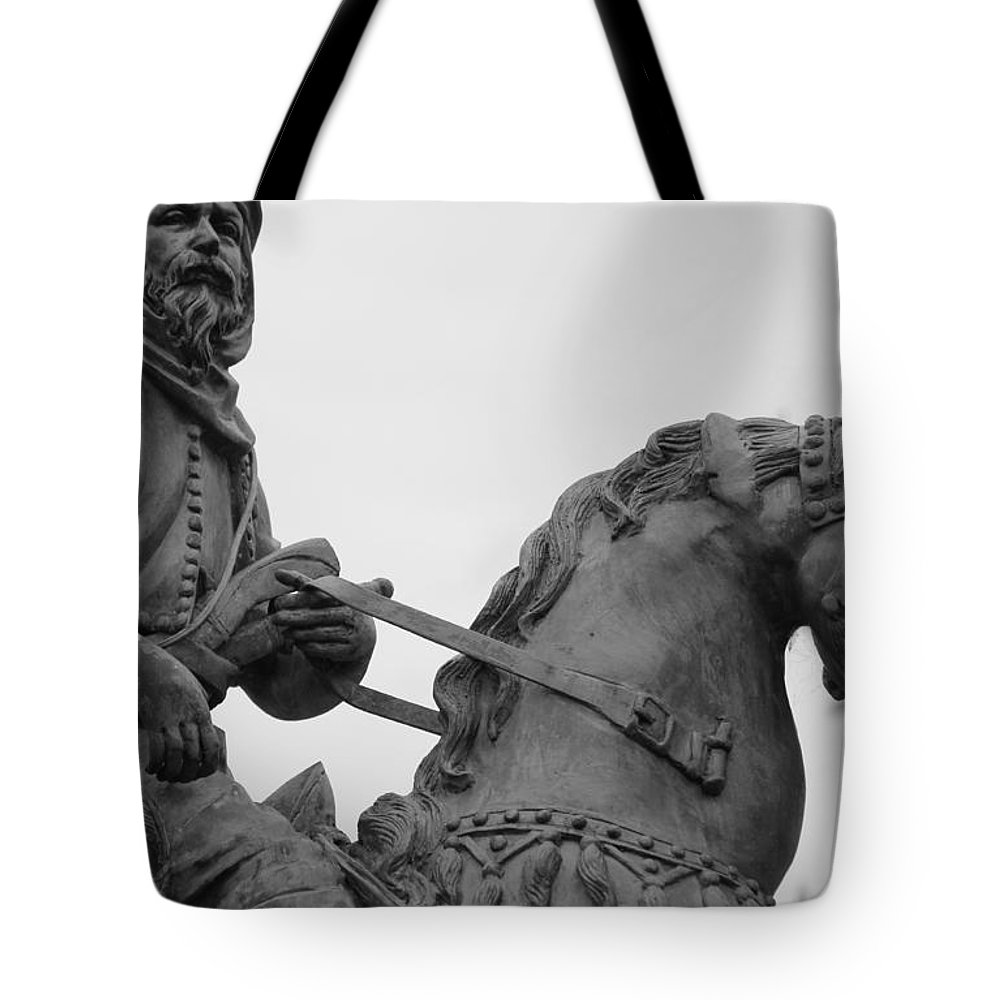 Brave Explorer Tote Bag featuring the photograph Brave Explorer by Ed Smith