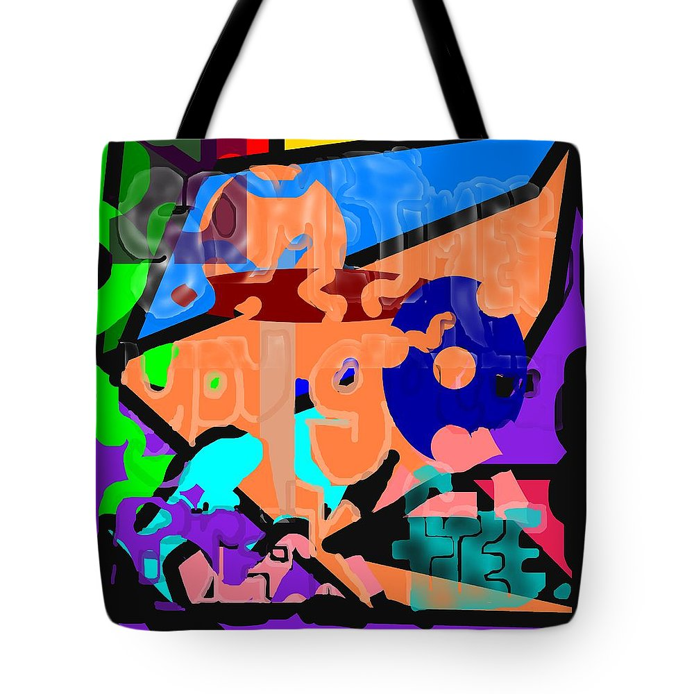 Free Tote Bag featuring the digital art Break Free by Pharris Art