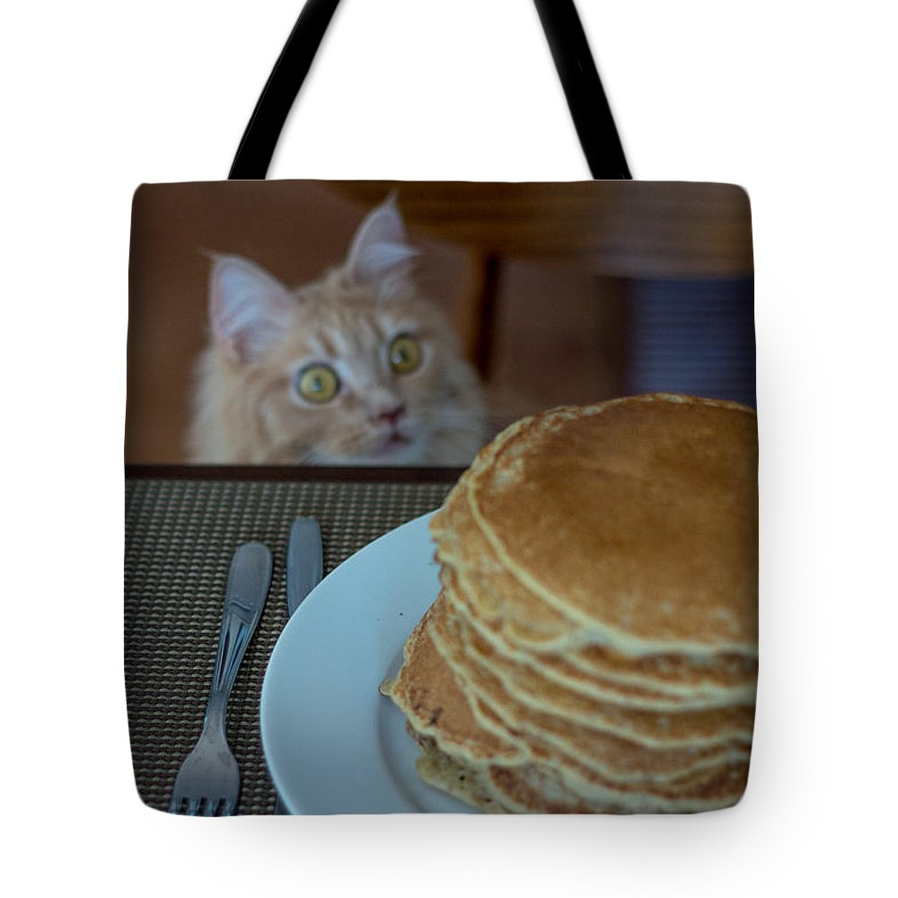 Asia Tote Bag featuring the photograph Breakfast by Peteris Vaivars