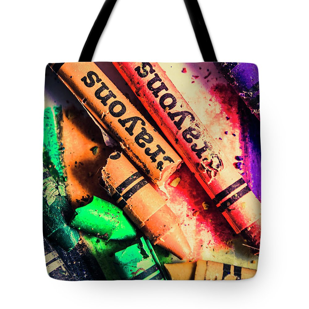 School Tote Bag featuring the photograph Breaking The Creative Spectrum by Jorgo Photography - Wall Art Gallery