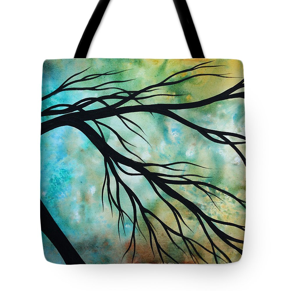 Art Tote Bag featuring the painting Breathless 2 By Madart by Megan Duncanson