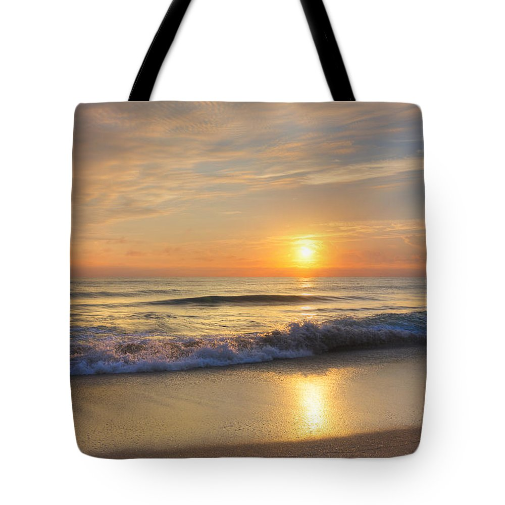Clouds Tote Bag featuring the photograph Breathtaking by Debra and Dave Vanderlaan
