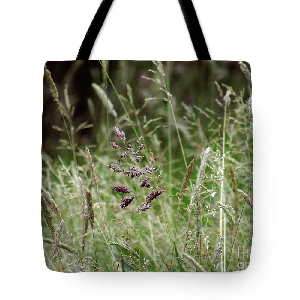 Grass Tote Bag featuring the photograph Breezy Summer 2 by Kim Tran