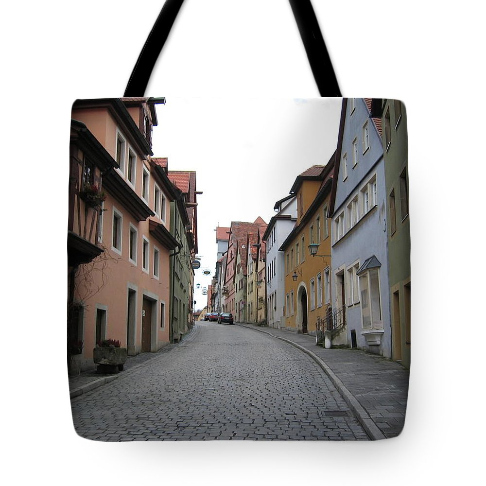 Cityscape Tote Bag featuring the photograph Brick Dreams by Dylan Punke