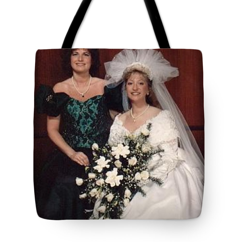 Bridal Tote Bag featuring the photograph Bride And Honor by John Graziani