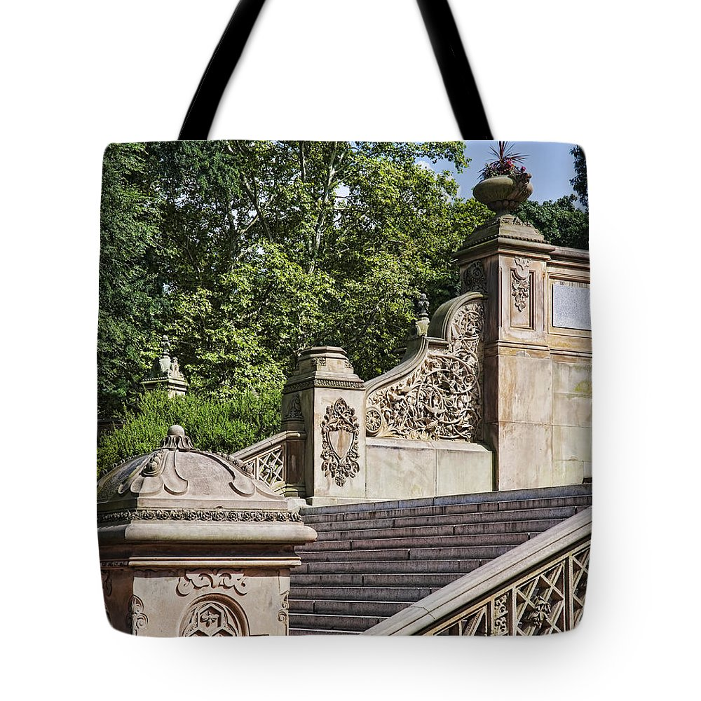 Bridge Tote Bag featuring the photograph Bridge Detail by Kelley King