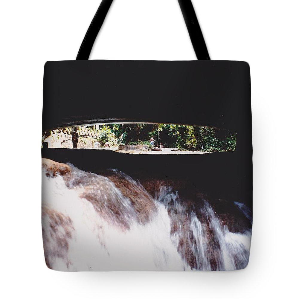 Water Tote Bag featuring the photograph Bridge Over Water by Michelle Powell