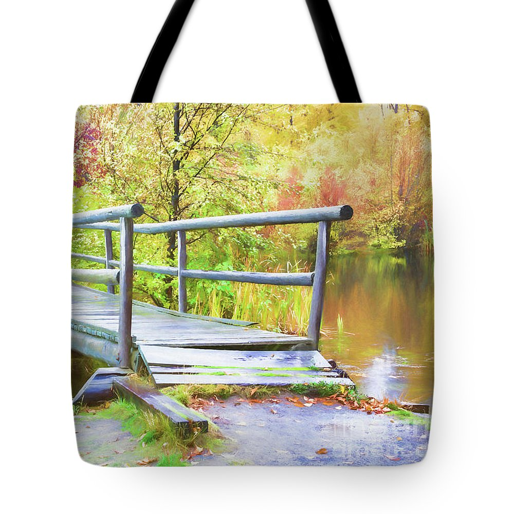 Wood Tote Bag featuring the photograph Reconciliation by Jean OKeeffe Macro Abundance Art