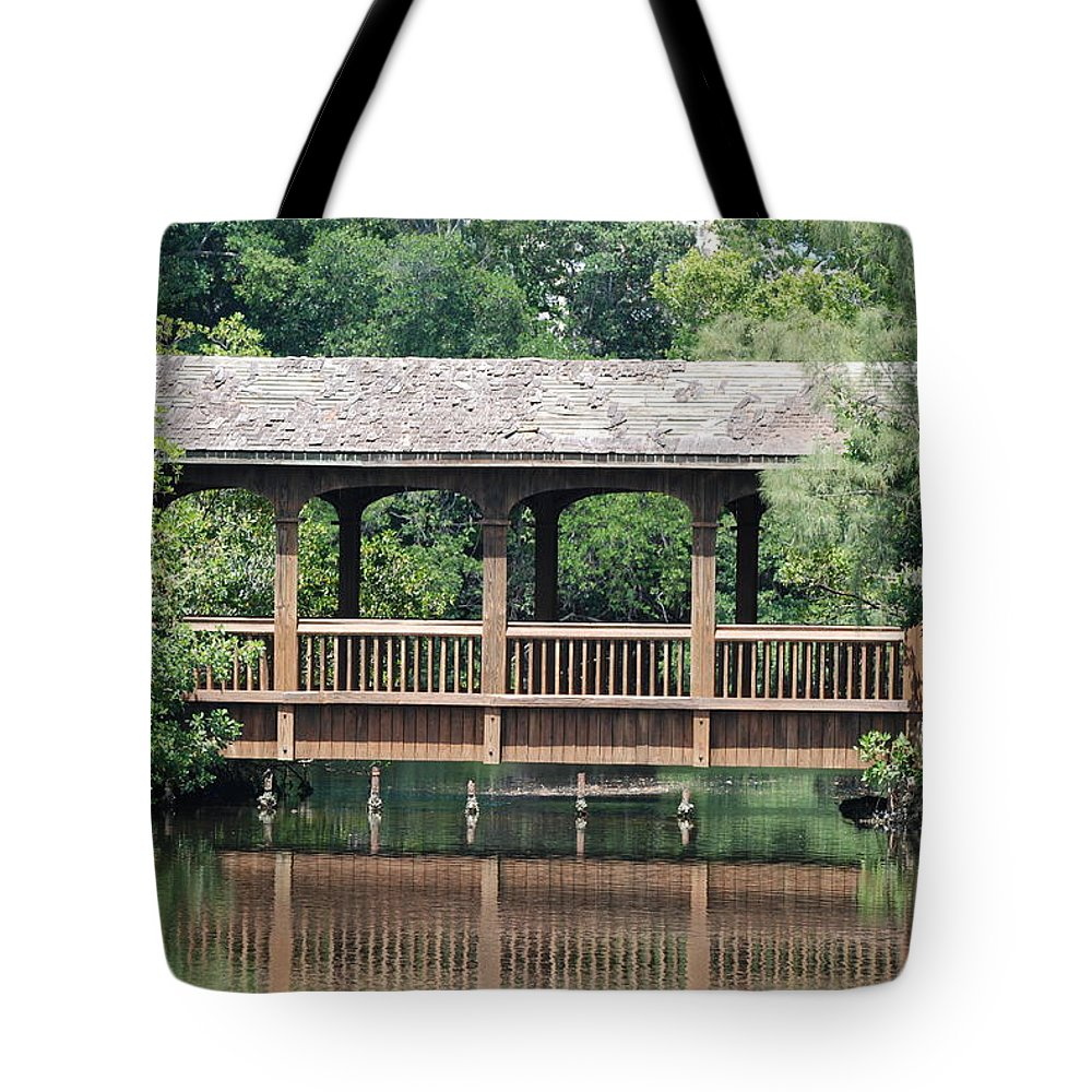 Architecture Tote Bag featuring the photograph Bridges Of Miami Dade County by Rob Hans