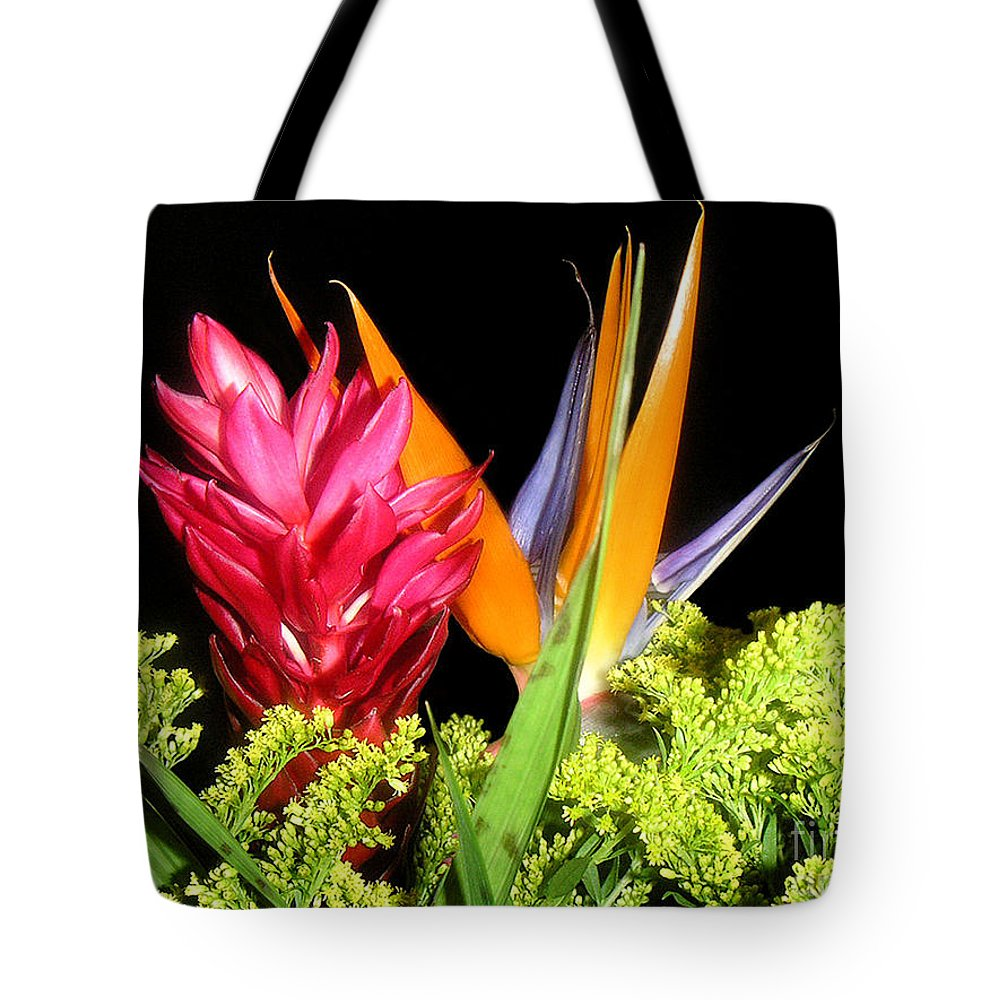 Nature Tote Bag featuring the photograph Bright Companions by Lucyna A M Green