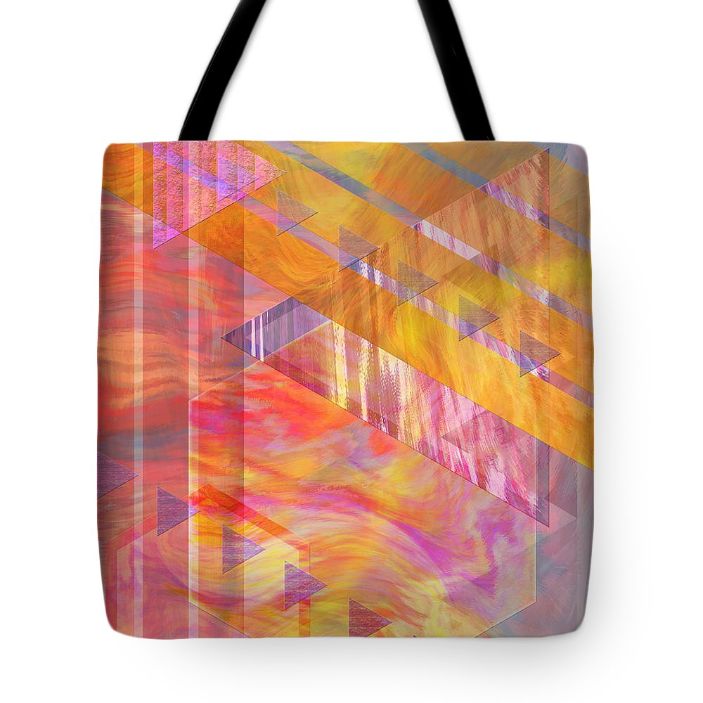 Affordable Art Tote Bag featuring the digital art Bright Dawn by John Beck