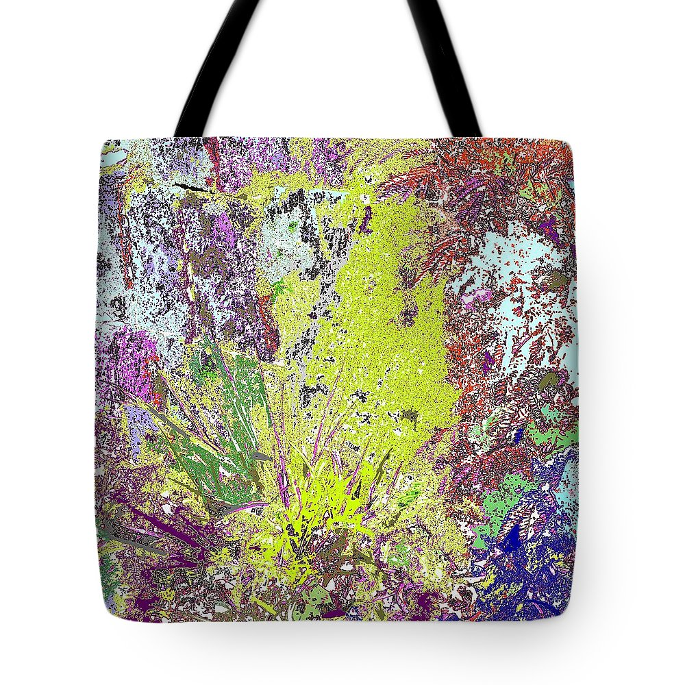Abstract Tote Bag featuring the photograph Brimstone Fantasy by Ian MacDonald