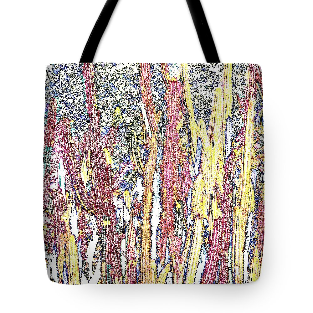 Forest Tote Bag featuring the photograph Brimstone Forest by Ian MacDonald