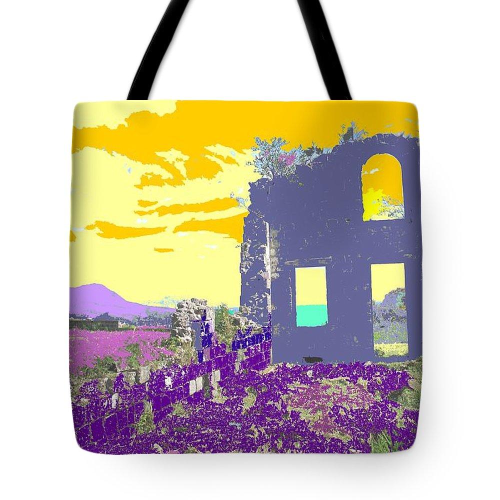 Brimstone Tote Bag featuring the photograph Brimstone Sunset by Ian MacDonald